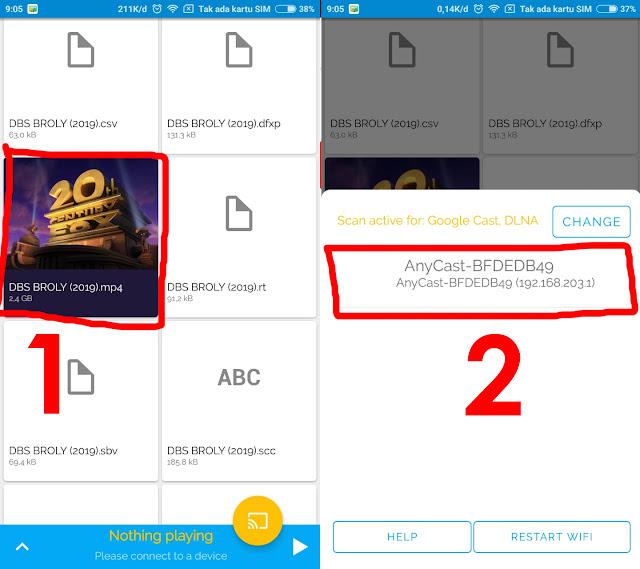 REVIEW ANYCAST HDMI DONGLE DAN CARA MENAMPILKAN LAYAR SMARTPHONE KE TV TANPA KABEL