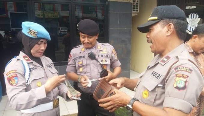 Anggota Sie Propam Polresta Depok Sidak Dadakan ke Sejumlah Polsek