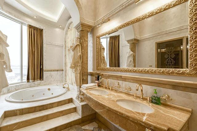 Villa Di Pulau Pearl Jumeirah Dubai Dengan Interior Berlapis Emas Ini Dijual Seharga Rp 160 M
