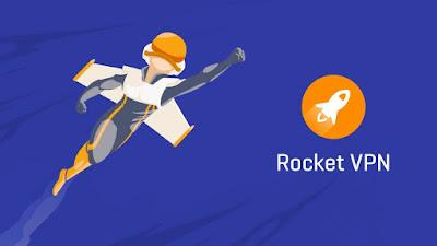 Buka Situs yang di Blokir Menggunakan Aplikasi Rocket VPN - Internet Freedom