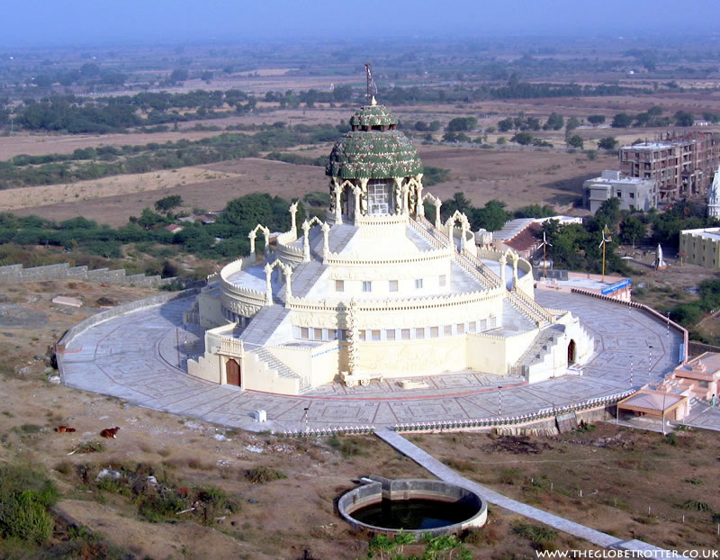 The Samovasaran Jain Temple in Palitana