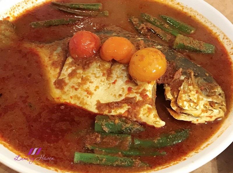 tourism perak yum yum restaurant nyonya gulai fish