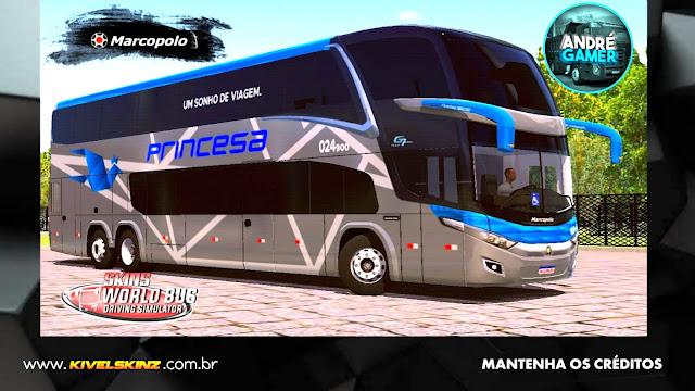 PARADISO G7 1800 DD 6X2 - VIAÇÃO PRINCESA DOS INHAMUNS
