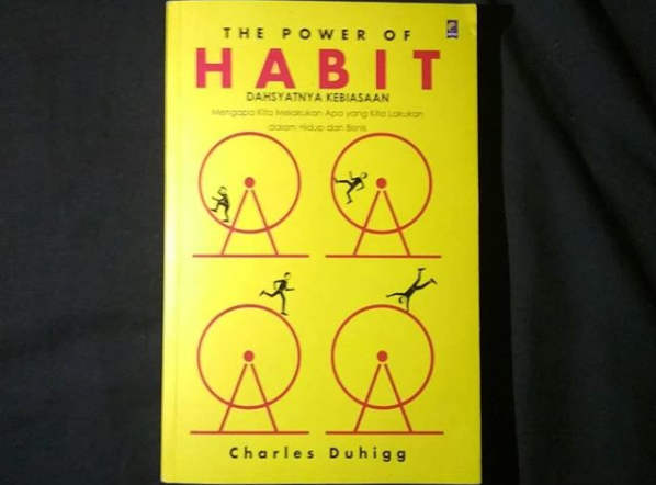review buku Buku The Power of Habit kebiasaan