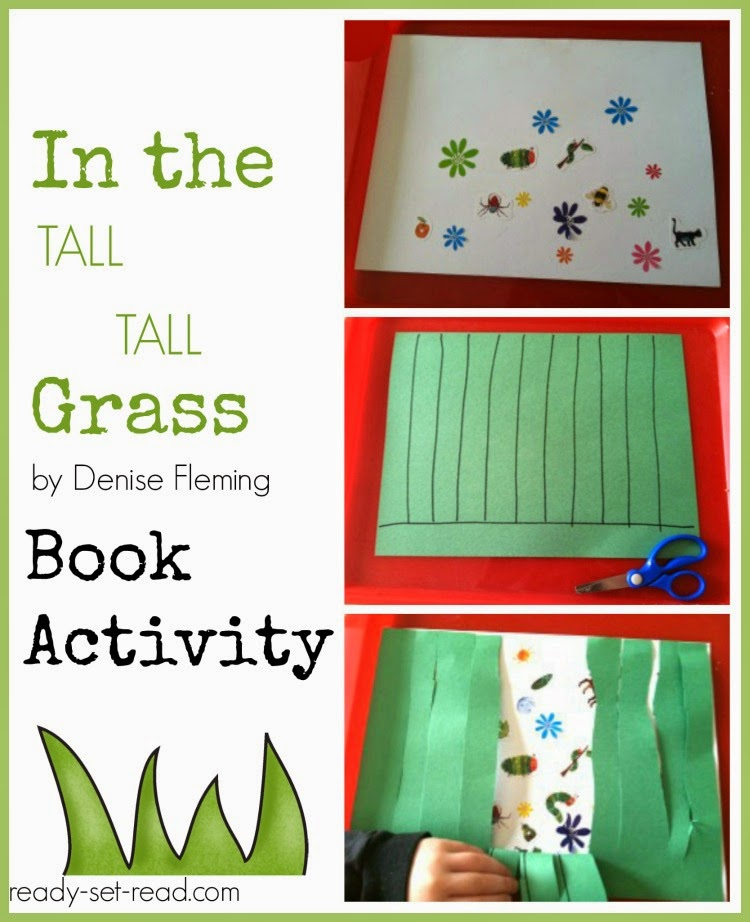 book activities, denise fleming, in the tall tall grass