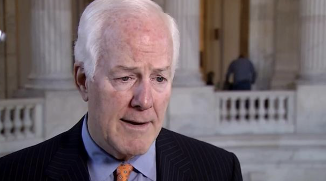 Cornyn On Trump's Mexico Tariffs: 'A Massive Tax'