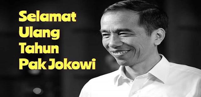 Ulang Tahun Jokowi Jadi Trending Topik