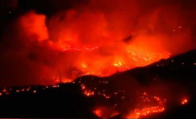 Incendio forestal Gran Canaria agosto 2019
