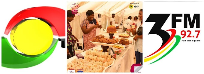 TV3 and 3FM of Media General teamed up with the country's biggest cakes events platform, The Cake Fair, for another history making moment of sweetness