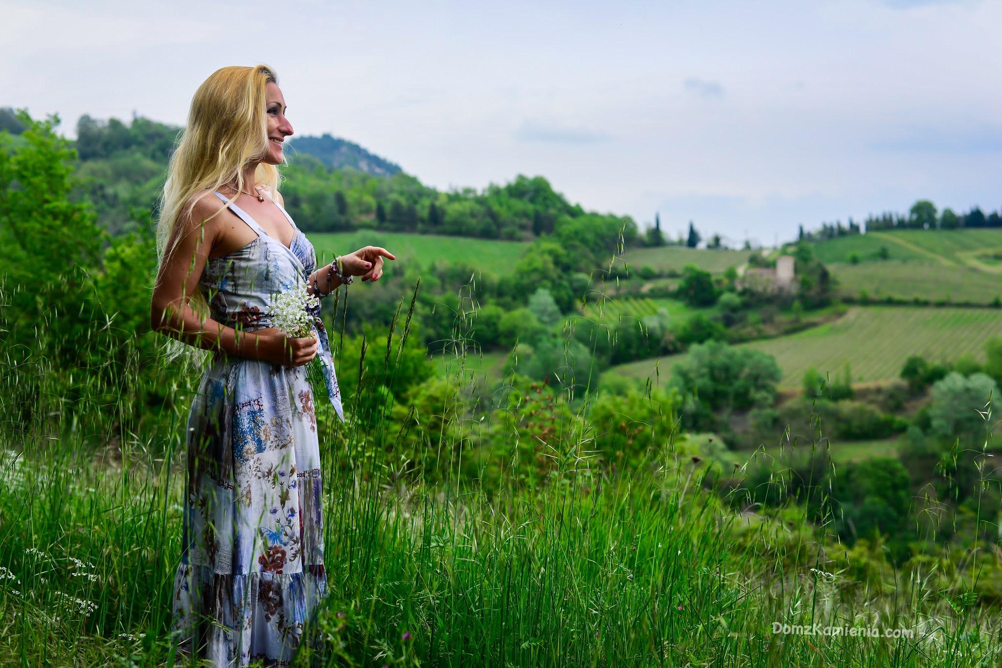 Kasia z Domu z Kamienia, blogerka w Toskanii