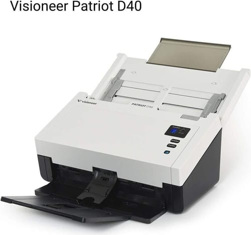 Review Visioneer Patriot Pd40-u Sheetfed Scanner