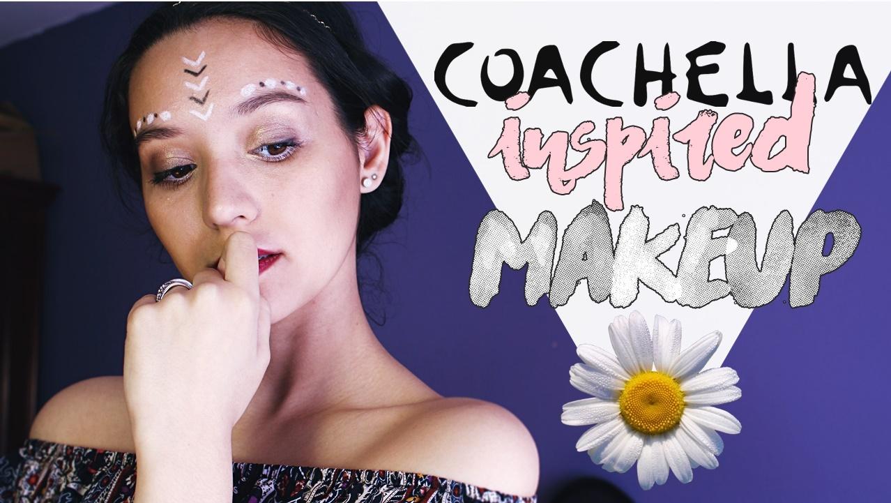 maquillaje inspirado en Coachella