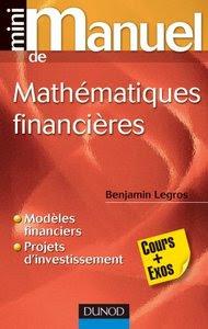 Télécharger Livre Gratuit Mini Manuel de Mathématiques financières cours exercices pdf
