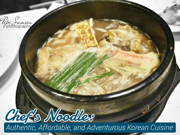 Chef's Noodle: Authentic, Affordable, and Adventurous Korean Cuisine