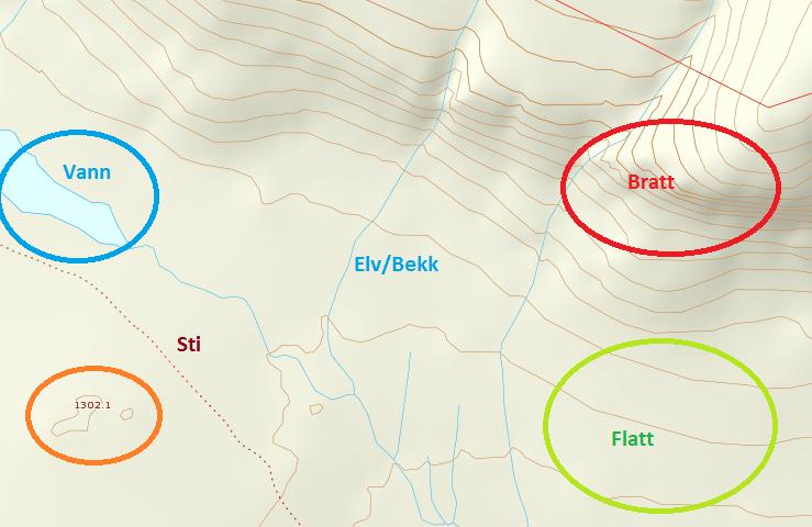 kart med høydekurver Kart og Kompass | Villmadsen kart med høydekurver