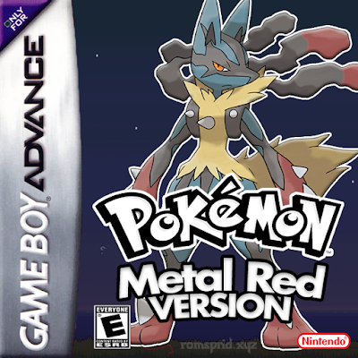 Pokemon Metal Red GBA ROM Hack Download