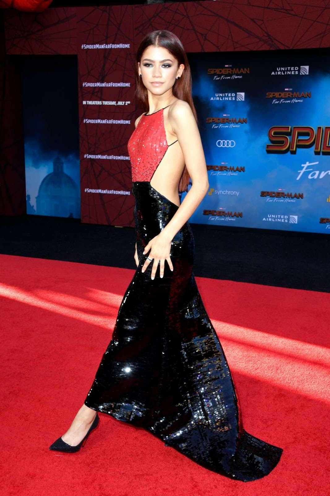 Zendaya – Spider-Man Far From Home Premiere in Hollywood