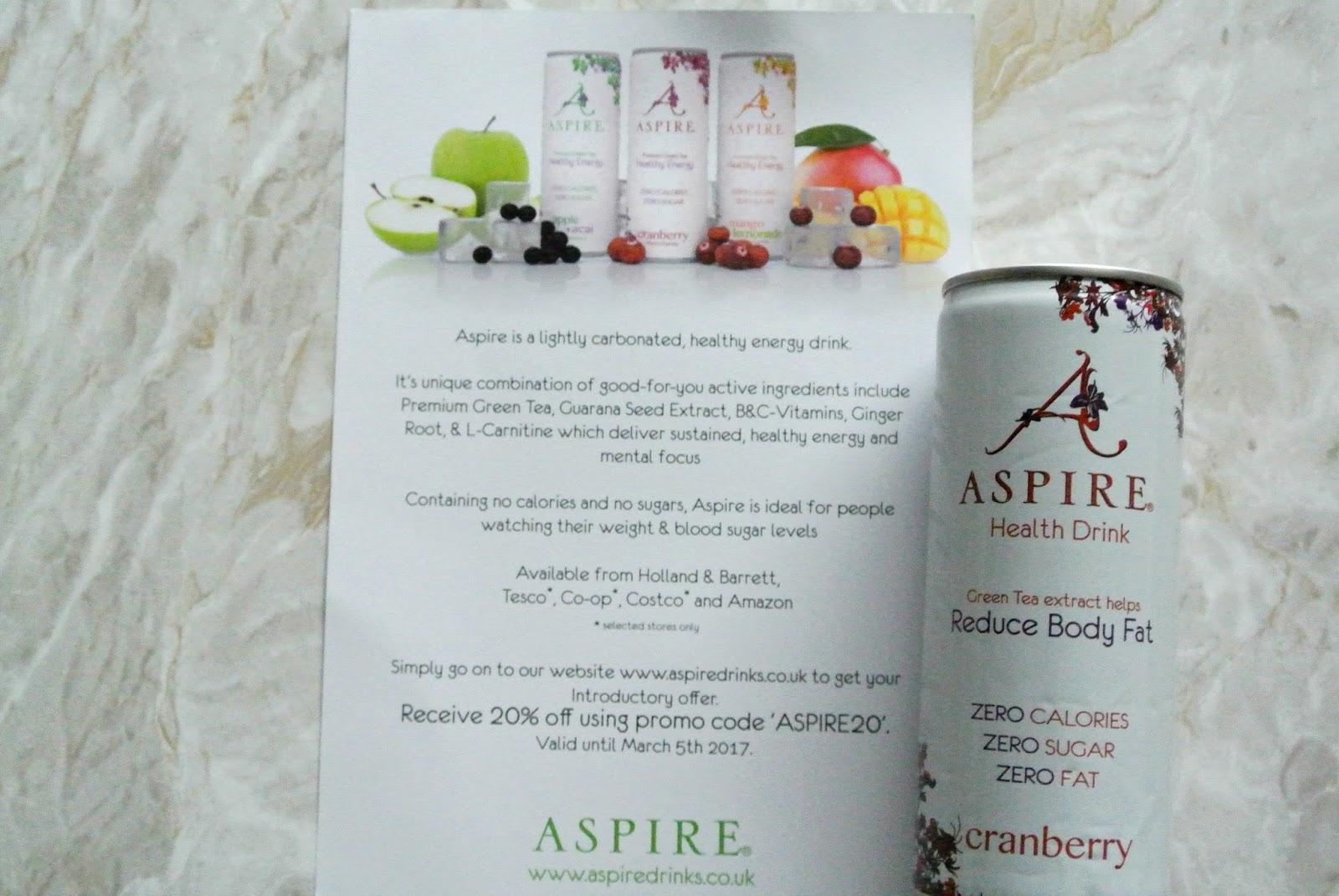 Aspire Drinks Degustabox