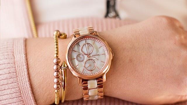 Women Rose Gold Watches - Fossil   Timex   MK   Anne Klein