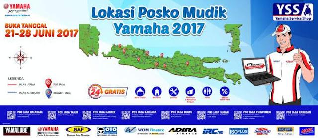 Posko-Mudik-Yamaha-2017