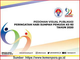 Logo dan Tema Hari Sumpah Pemuda Ke - 92 Tahun 2020