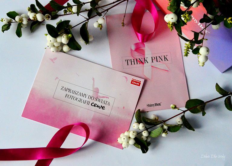 THINK PINK by ShinyBox -  CEWE FOTOJOKER Voucher na fotousługi