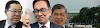 AMANAH, DAP  umum sokong penuh pada Anwar