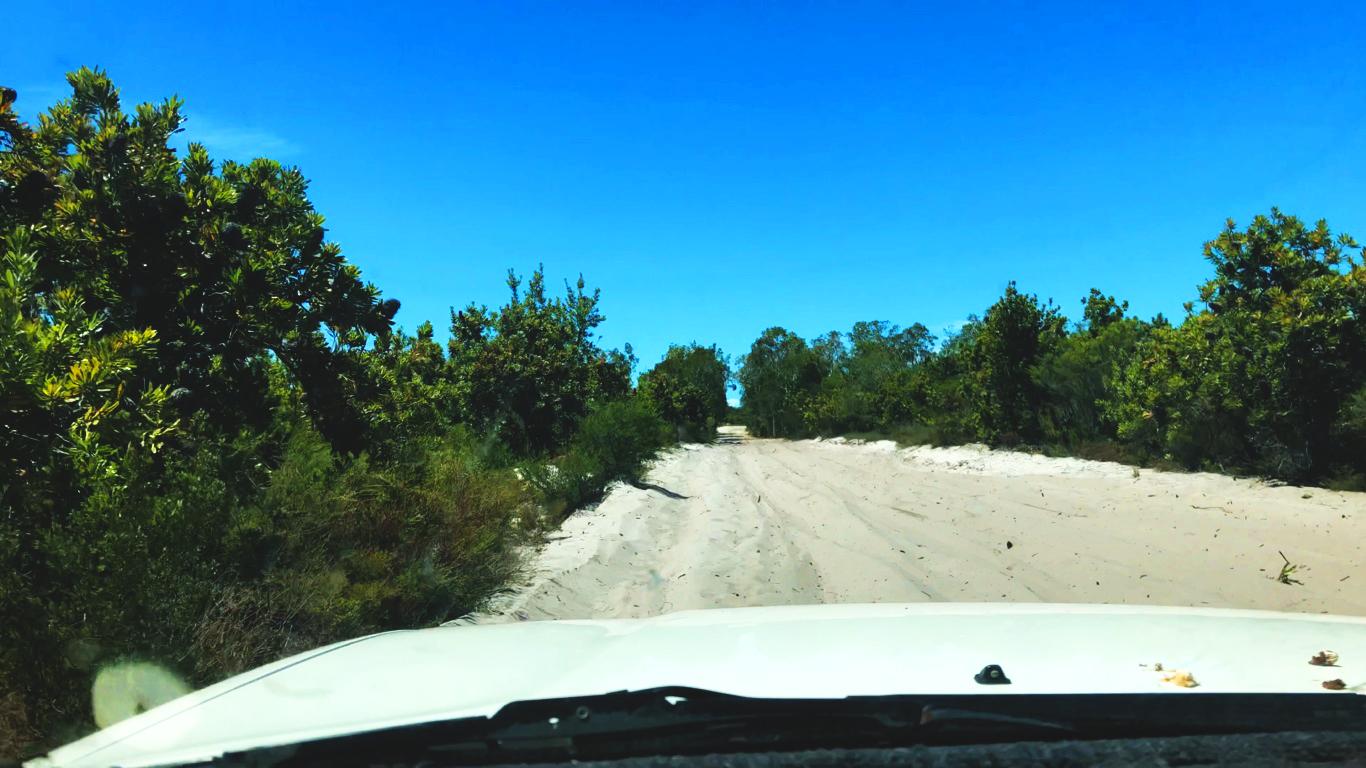 Droga prowadząca do Kinkuna National Park