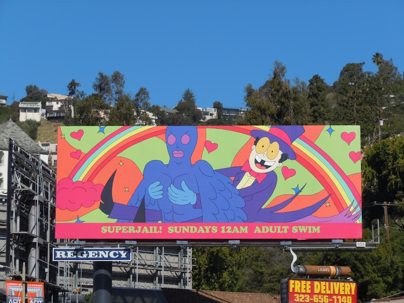 Superjail 2 Adult Swim billboard