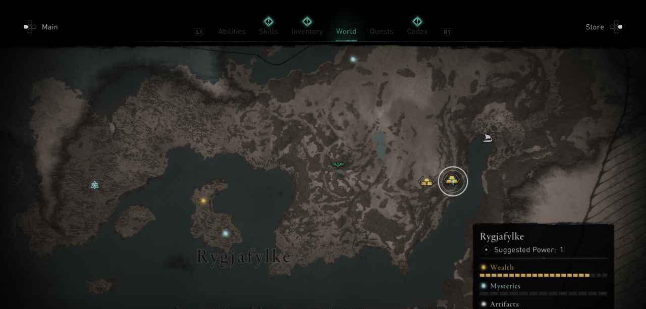 Ingot 13 Map
