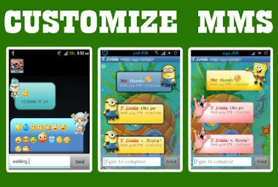 customizing sms for smartphone android