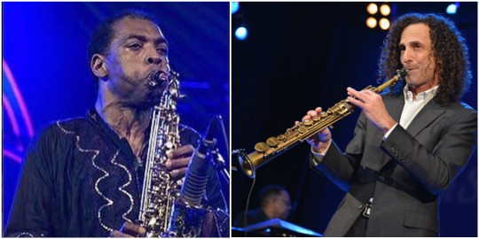 Femi Kuti Breaks World Record With His Saxophone At The African Shrine (Photos)