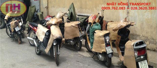 Dịch vụ vận chuyển gửi xe máy đi ra Hải Phòng