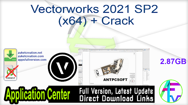 Vectorworks 2021 SP2 (x64) + Crack