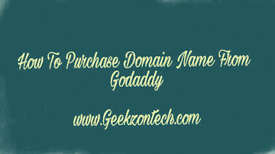 How To Purchase Domain Name From Godaddy in india