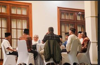 Gubernur Sultra Ali Mazi Gelar Buka Bersama Dengan Forkopimda