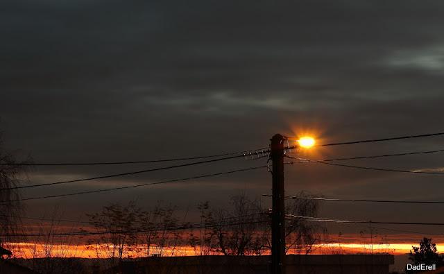 Ciel de matin d'hiver