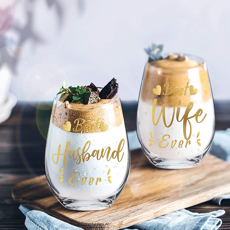 Funny Wine Glass Set