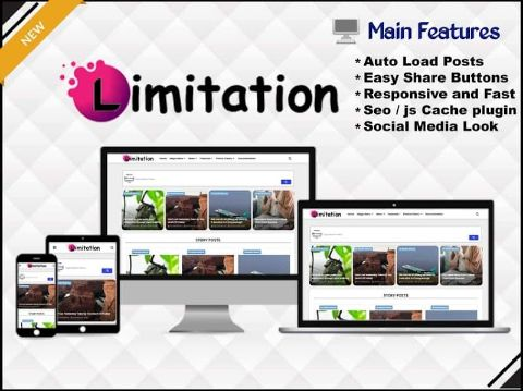 Limitation - Responsive Blogger Template - Responsive Blogger Template