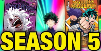 My Hero Academia Season 5 Release Schedule