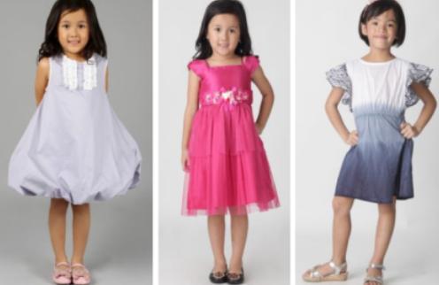 Foto Gambar Baju Anak Perempuan Umur 3 4 6 8 9 10 12 Tahun Murah Online