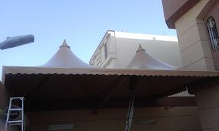 تركيب مظلات وسواتر في المدينة المنورة