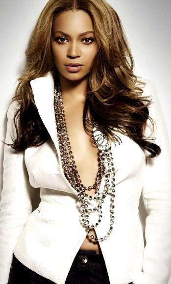 Foto de Beyonce con mirada impactante