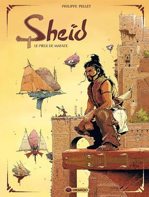 Sheïd tome 1 - le piège de Mafate aux éditions Drakoo