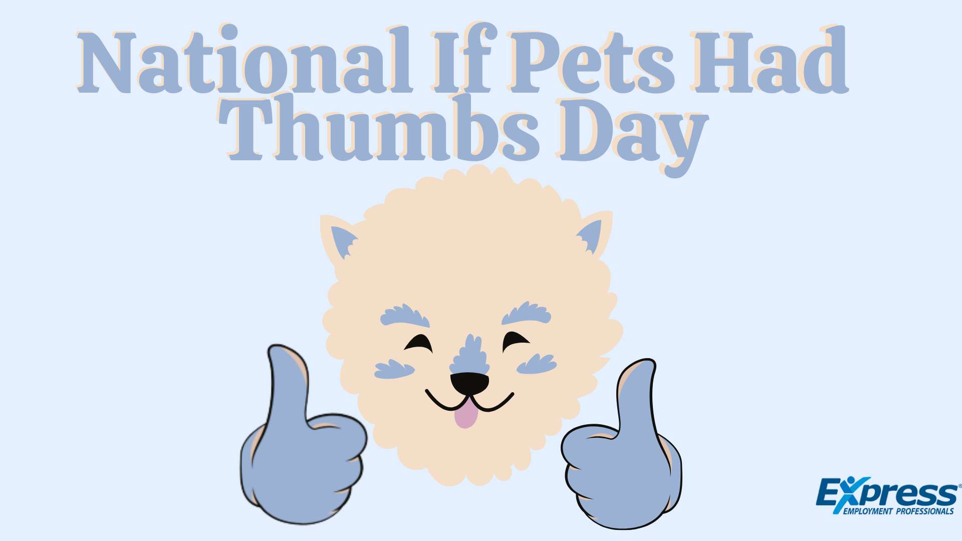 National If Pets Had Thumbs Day Wishes Photos