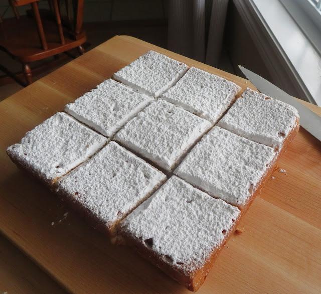 Powdered Donut Cake