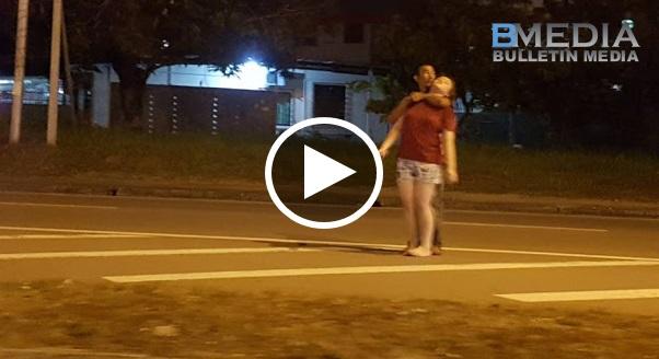 [VIDEO] Gadis Dijadikan Tebusan Oleh Perompak Di Kota Kinabalu