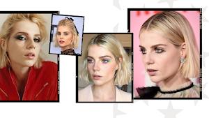 Beauté : zoom sur les makeups de Lucy Boynton