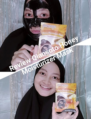Review Qiansoto Honey Moisturizer Mask
