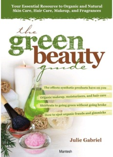 The Green Beauty Guide PDF Books By  Julie Gabriel